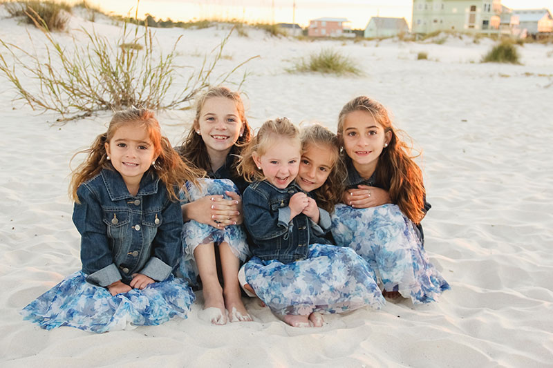 Sunrise at Fort Morgan – Gulf Shores Family Photography