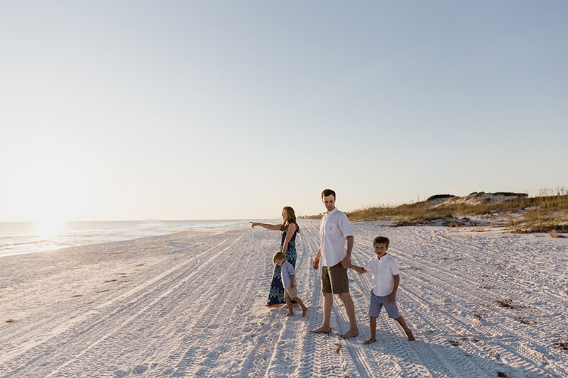 First Family Beach Vacation – 30A Photographer